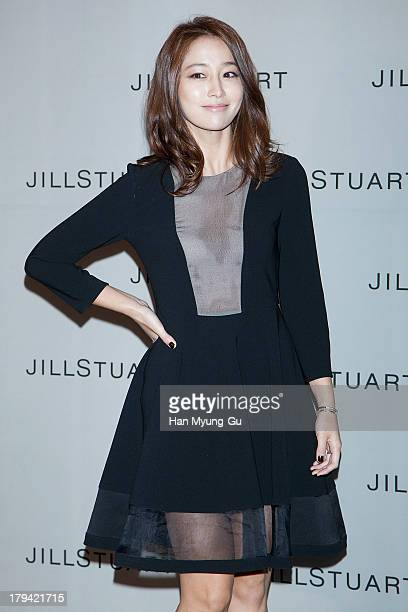 South Korean actress Rhee MinJung attends the presentation of Jill Stuart 2013 A/W collection at LG Fashion RAUM on September 3 2013 in Seoul South...