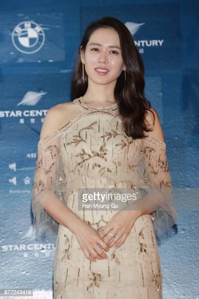 South Korean actress Son YeJin attends the 53rd Baeksang Arts Awards at COEX on May 3 2017 in Seoul South Korea