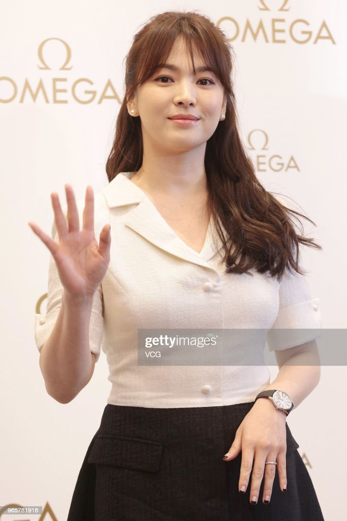 Song Hye-kyo Attends Omega Event In Hong Kong