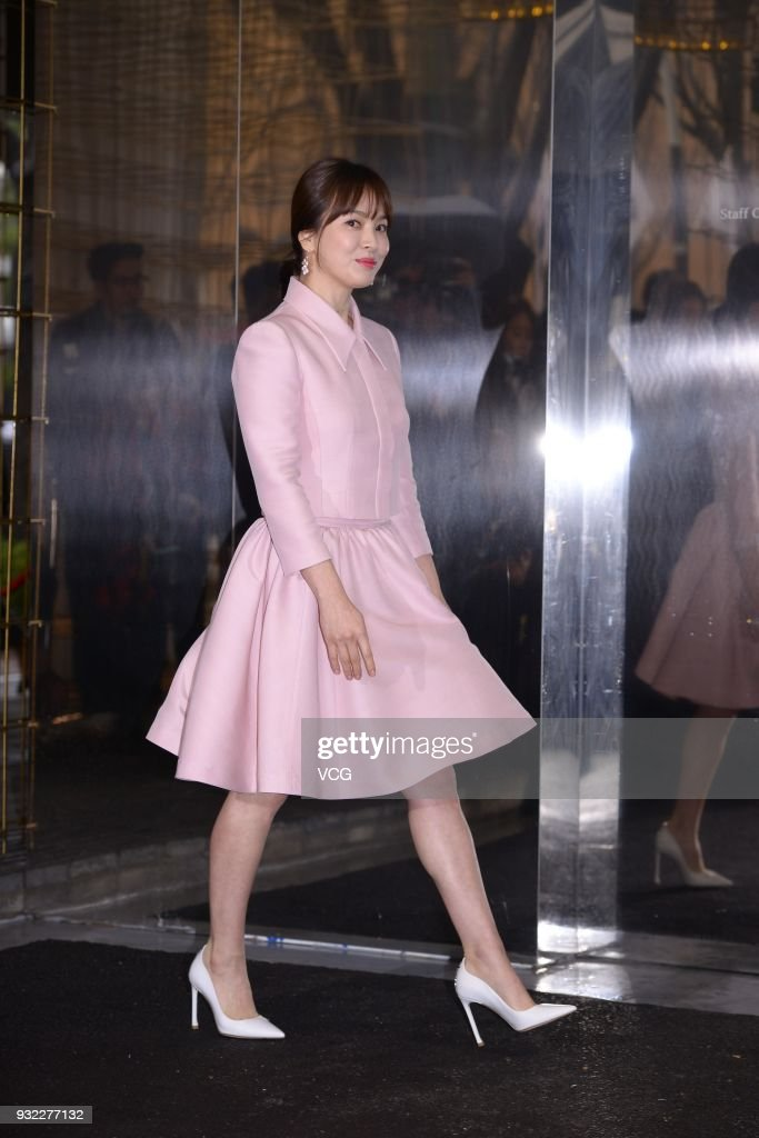 Song Hye-kyo Attends Promotional Event In Seoul