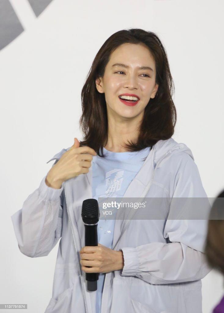 CHN: Song Ji-hyo Attends Papido Event In Shenzhen