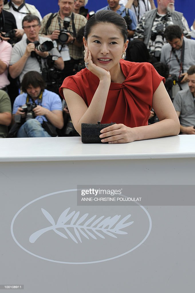 South Korean actress Ye Jiwon poses during the photocall 'Ha Ha Ha' presented in the Un Certain Regard selection at the 63rd Cannes Film Festival on May 21, 2010 in Cannes.