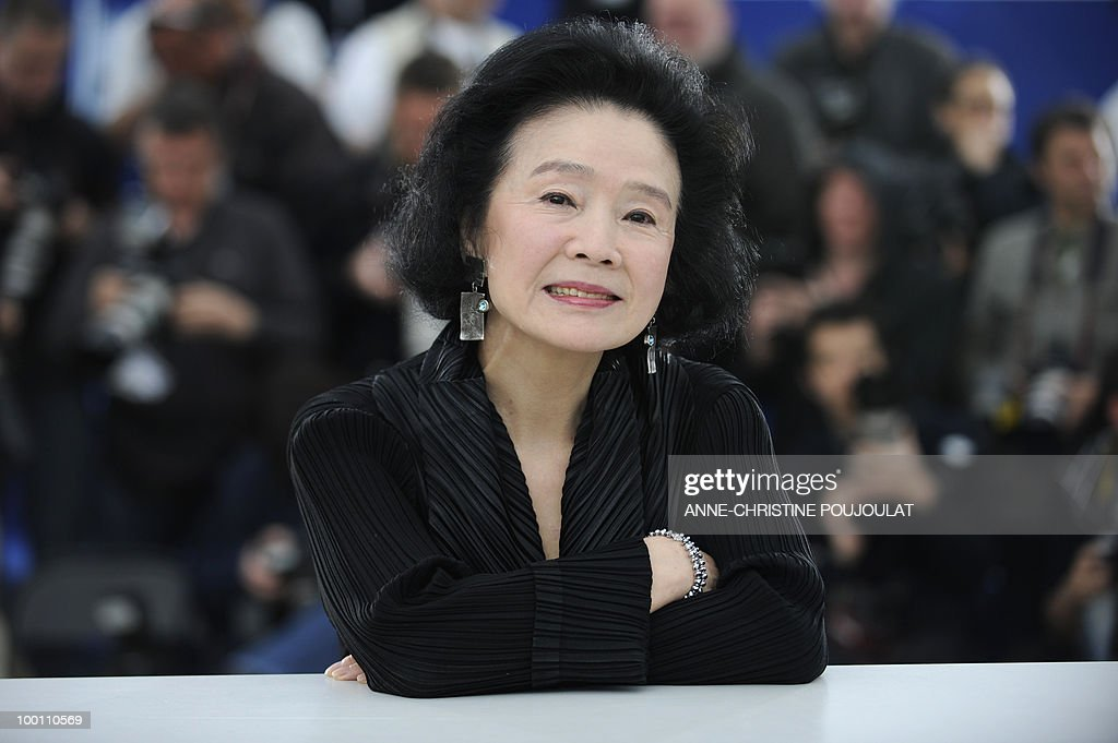 South Korean actress Yun Jung-Hee poses during the photocall of 'Poetry' presented in competition at the 63rd Cannes Film Festival on May 19, 2010 in Cannes.