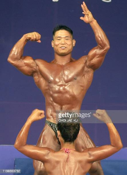 1 583 Bodybuilding Couples Photos And Premium High Res Pictures Getty Images
