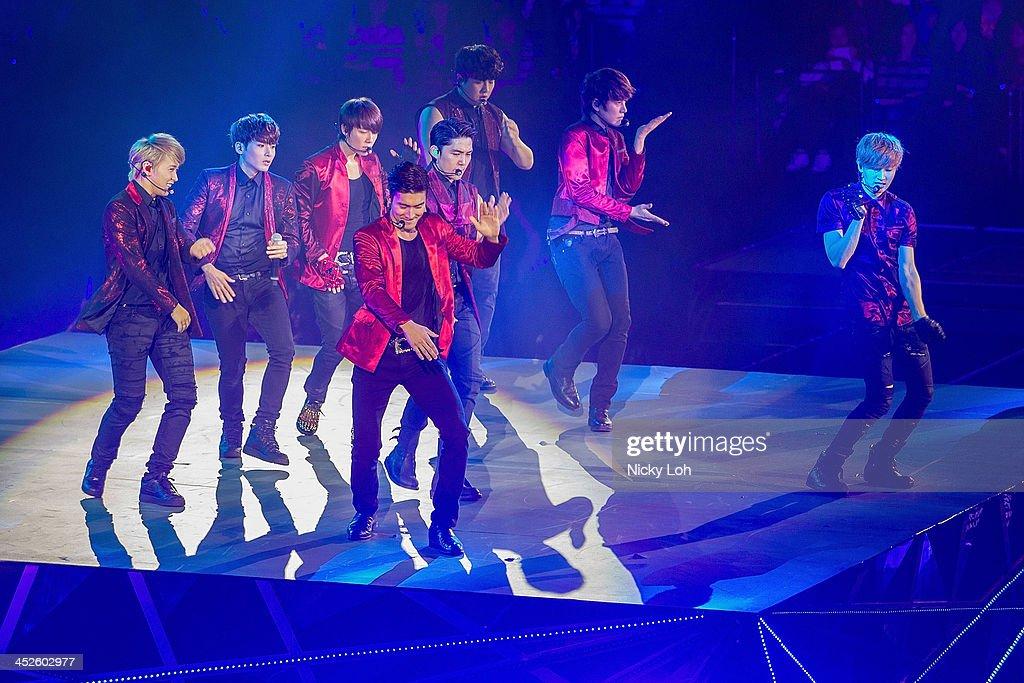 Super Junior Perform Live In Macau