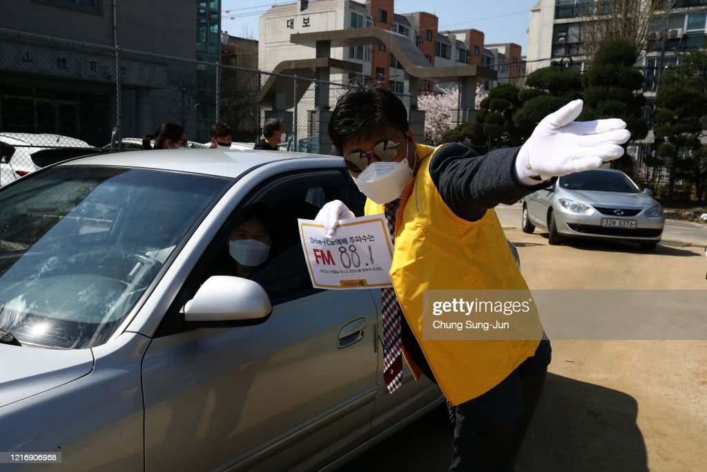 South Korean Christians Gather In Seoul Amid The Coronavirus Outbreak : News Photo