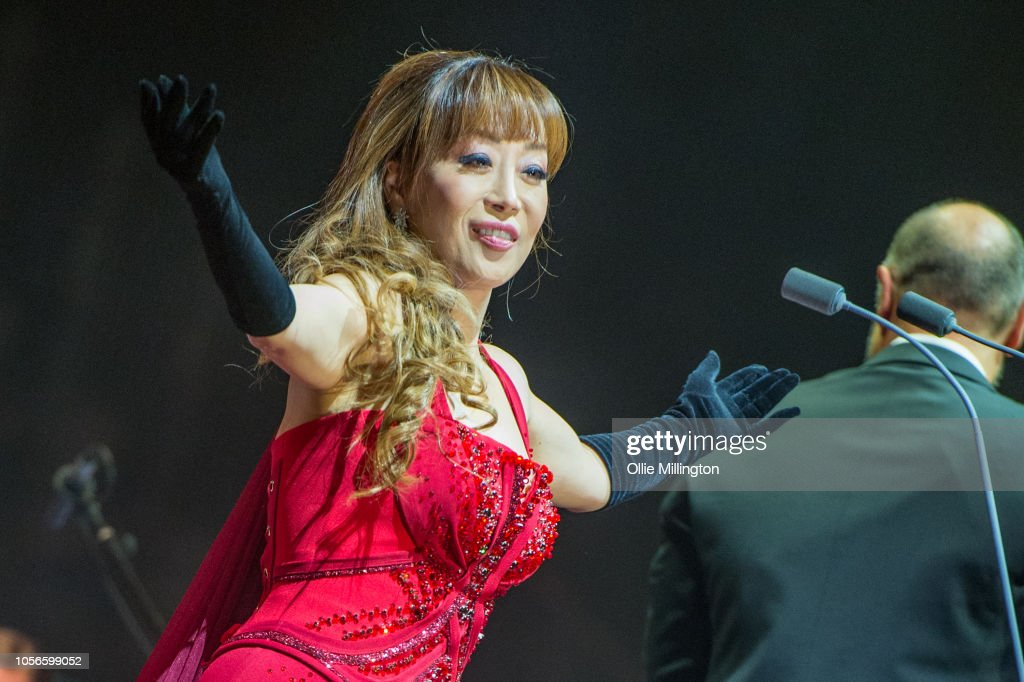 South Korean Coloratura Soprano Sumi Jo Performs Onstage As A