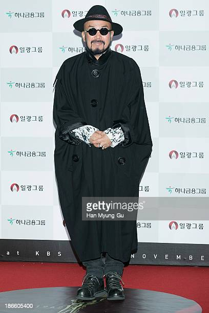 South Korean designer Lie SangBong attends the 50th Daejong Film Awards at KBS Hall on November 1 2013 in Seoul South Korea