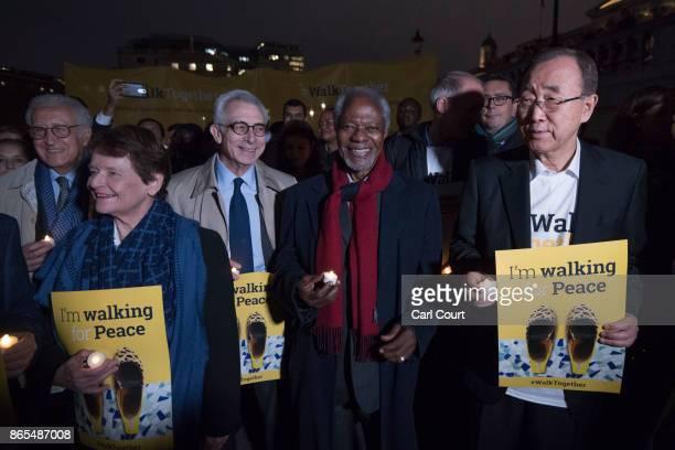 South Korean diplomat Ban Kimoon Ghanian diplomat Kofi Annan both former SecretaryGenerals of the United Nations former President of Mexico Ernesto...