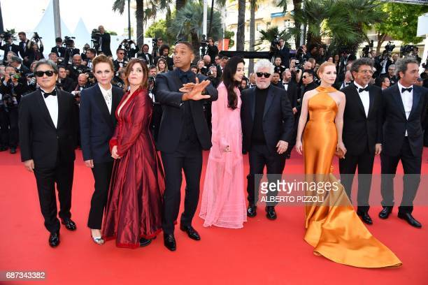 South Korean director and member of the Feature Film jury Park Chanwook German director and member of the Feature Film jury Maren Ade French actress...