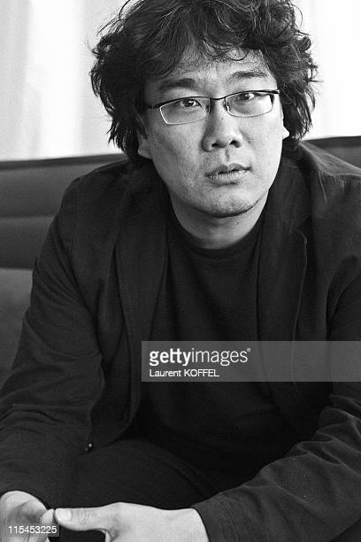 South Korean Director and President of the Camera d'Or Jury Joon Ho Bong poses during a photo session at the 64th Cannes Film Festival on May 16 2011...