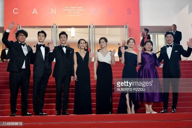 South Korean director Bong JoonHo South Korean actor Choi Wooshik South Korean actor Lee Sunkyun South Korean actress Cho Yeojeong South korean...