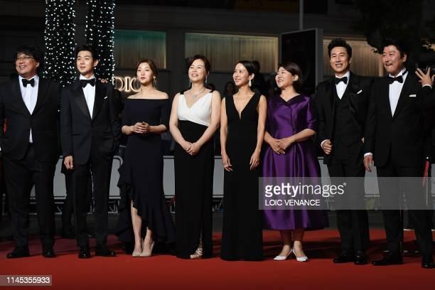 South Korean director Bong JoonHo South Korean actor Choi Wooshik South Korean actress Park Sodam South korean actress Chang Hyaejin South Korean...
