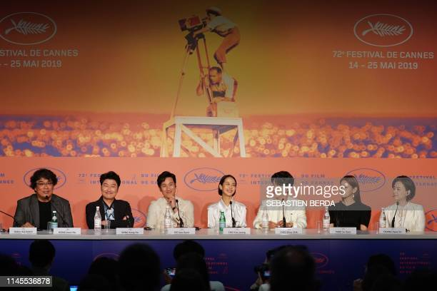 South Korean director Bong JoonHo South Korean actor Kangho Song South Korean actor Lee Sunkyun South Korean actress Cho Yeojeong South Korean actor...
