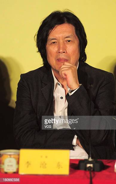 South Korean director Changdong Lee attends the Korean Film Exhibition at CGV cinema on August 29 2012 in Beijing China