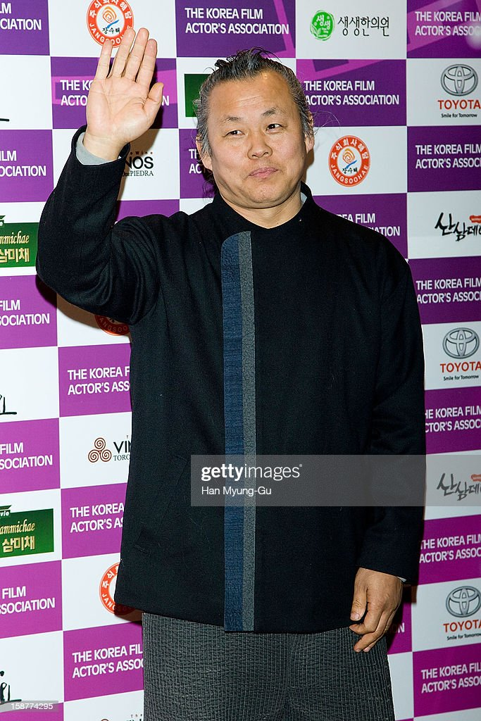 South Korean director Kim Ki-Duk attends the Year End Party hosted by The Korea Film Actor's Association at Lotte Hotel on December 28, 2012 in Seoul, South Korea.