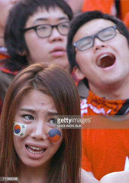 19 Fans Watch South Korea V Switzerland Group G World Cup