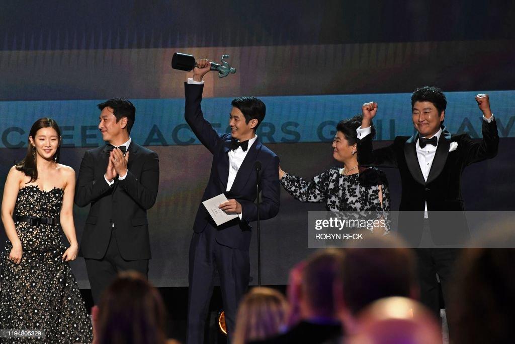 US-ENTERTAINMENT-SAG-FILM-AWARDS-SHOW : News Photo