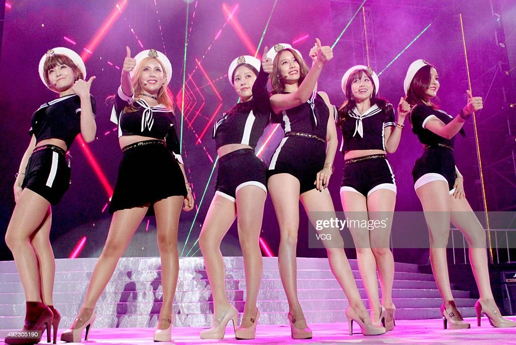 Sino-Korean Stars Charity Concert In Tianjin : News Photo