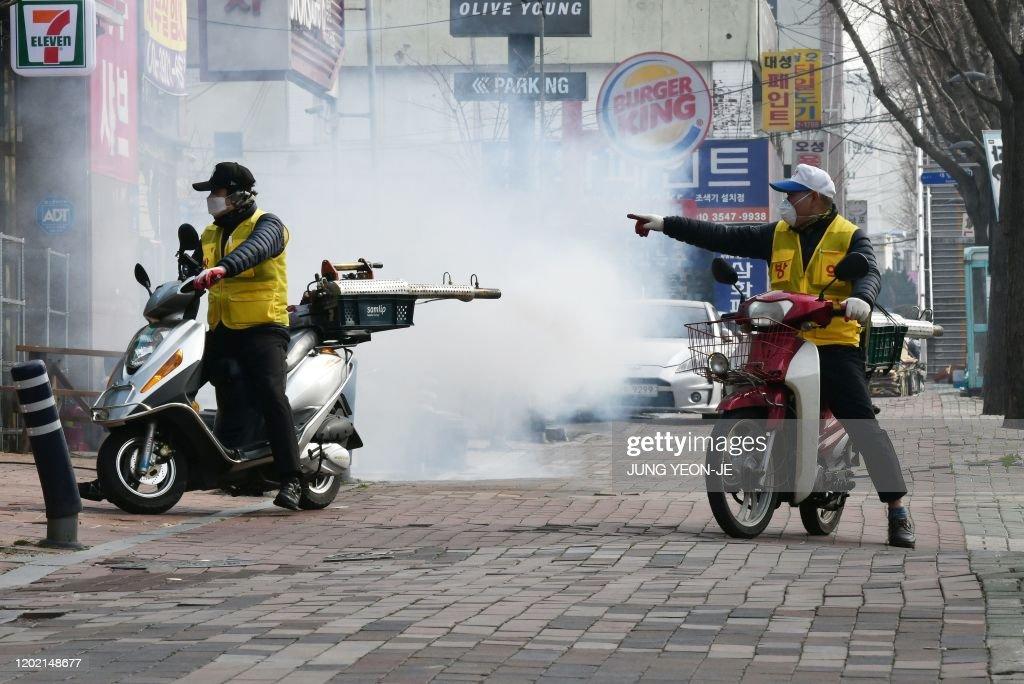 SKOREA-China-health-virus-religion : News Photo