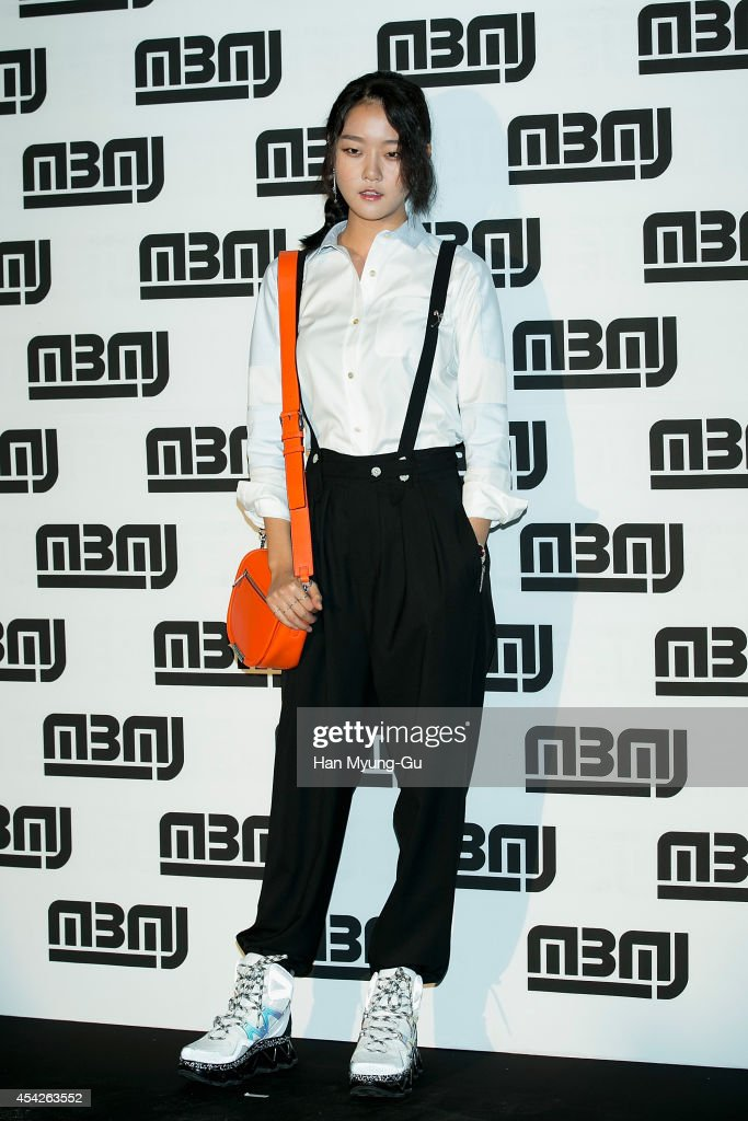 South Korean model Kang Seung-Hyon (Kang Seung-Hyun) attends the after party for Marc By Marc Jacobs - Fall 2014 Fashion Preview on August 27, 2014 in Seoul, South Korea