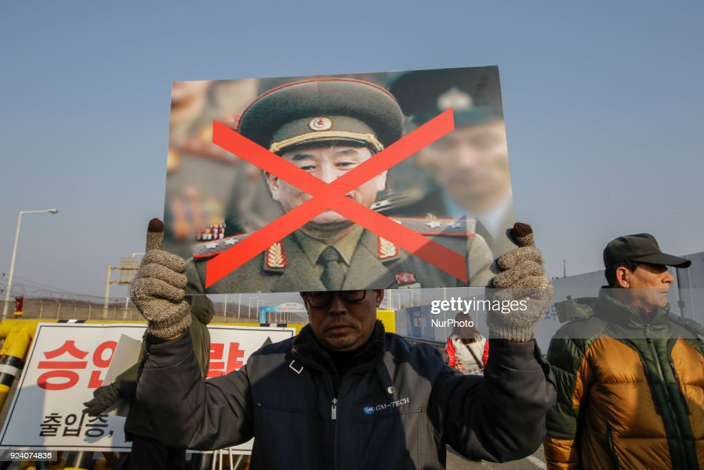 Anti-North Korea Rally near Panmunjom