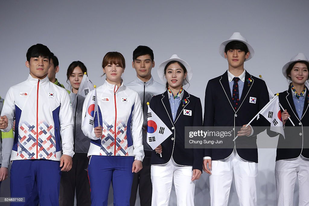South Korean Rio Olympics Team Media Session : News Photo
