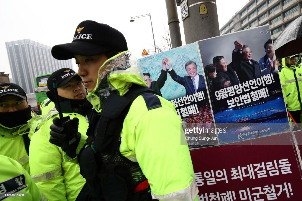 KOR: South Korean Students Rally Against U.S. Troops In Seoul