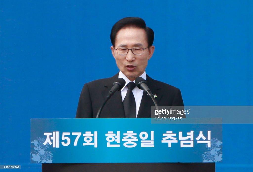 South Korean Commemorate 57th Memorial Day