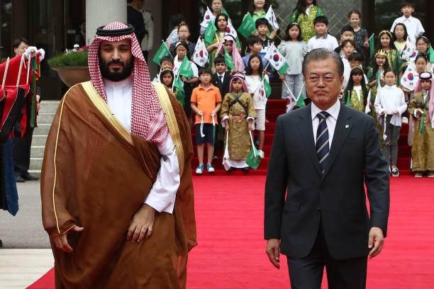 KOR: Saudi Arabia's Prince Mohammed Bin Salman Visits South Korea