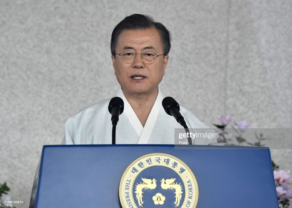 South Korea Marks 74th Anniversary Of Liberation From Imperial Japan : News Photo