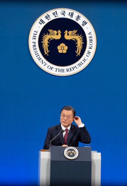 KOR: President Moon Jae-in Holds New Year Press Conference