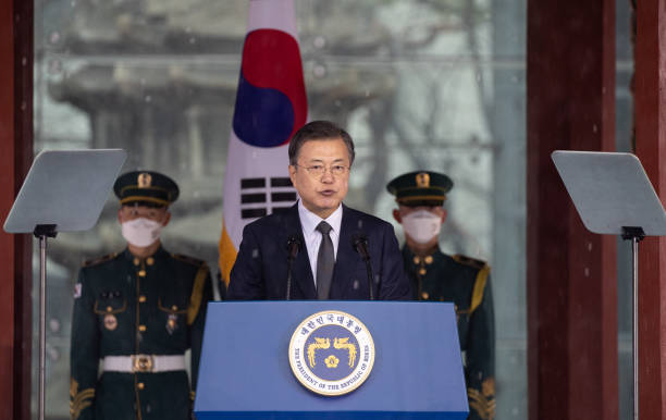 KOR: South Koreans Celebrate Anniversary Of Independence Movement