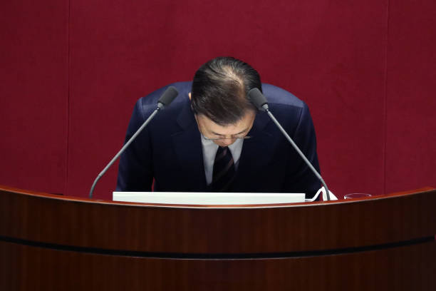 KOR: President Moon Jae-In Speaks On Budget