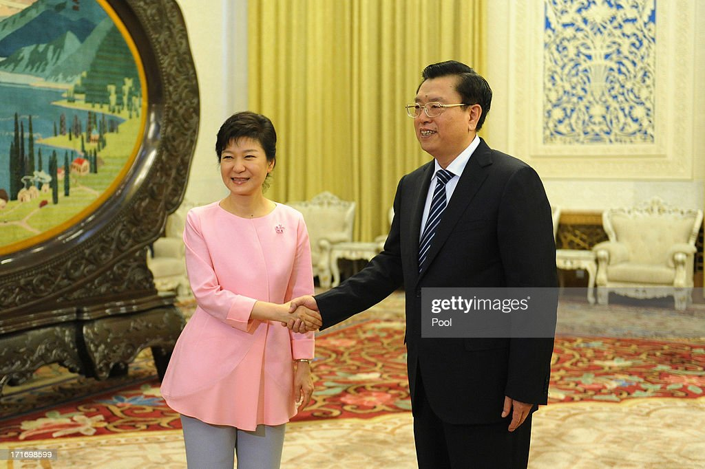 South Korean President Park Geun-Hye Visits China