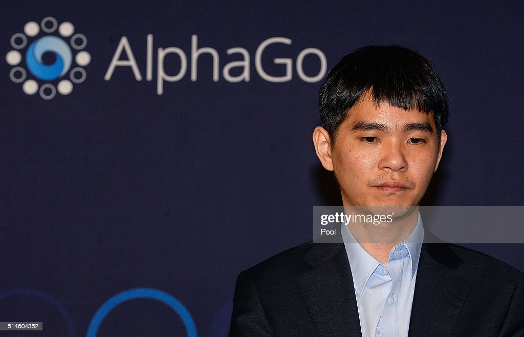 South Korean professional Go player Lee Se-Dol attends the press conference after the match against Google's artificial intelligence program, AlphaGo on March 10, 2016 in Seoul, South Korea. Google's computer program AlphaGo defeated its human opponent, South Korean professional Go player Lee Se-Dol in the second game.