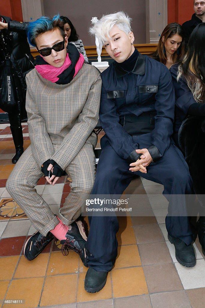 Lanvin : Front Row - Paris Fashion Week - Menswear F/W 2014-2015
