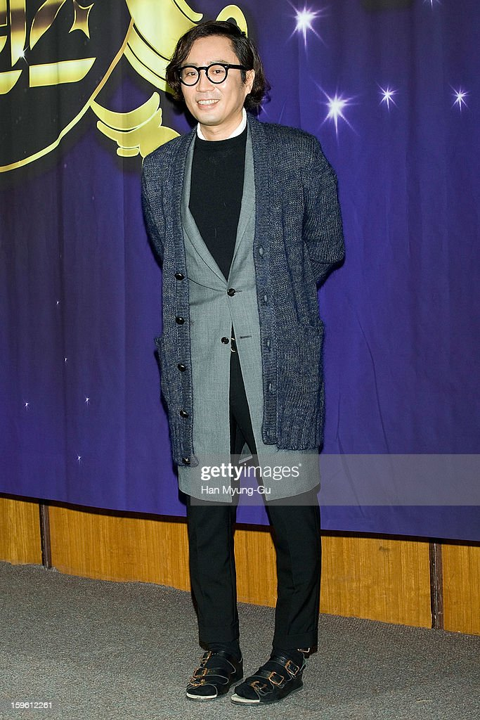 South Korean singer and song writer, Jung Jae-Hyung attends the KBS2 Talk Show 'Moonlight Prince' Press Conference at KBS on January 16, 2013 in Seoul, South Korea. Talk show will open on January 22 in South Korea.