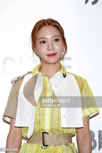 South Korean singer BoA attends the photocall for 'BYREDO' dosan flagship store opening on May 21, 2019 in Seoul, South Korea.