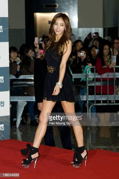 South Korean singer G.NA attends the 2011 SBS Korea Pop Music Festival at Ilsan Kintex on December 29, 2011 in Gyeonggi-do, South Korea.