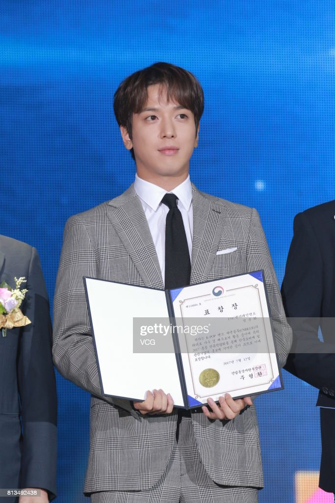 South Korean singer Jung Yong-Hwa attends the opening