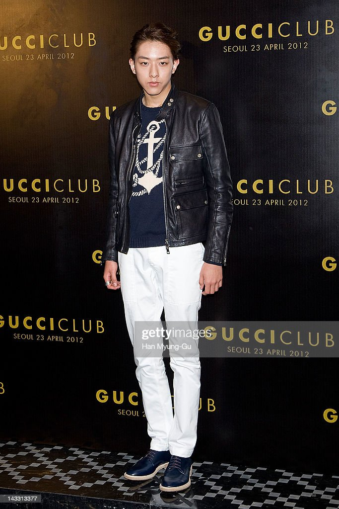 South Korean singer Lee Jung-Shin of CNBLUE attends the Reopening of Gucci's Seoul Flagship Store on April 23, 2012 in Seoul, South Korea.