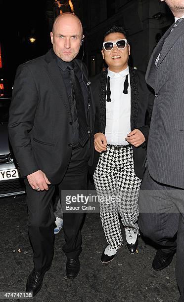 South Korean singer Psy is seen on November 07 2012 in London United Kingdom