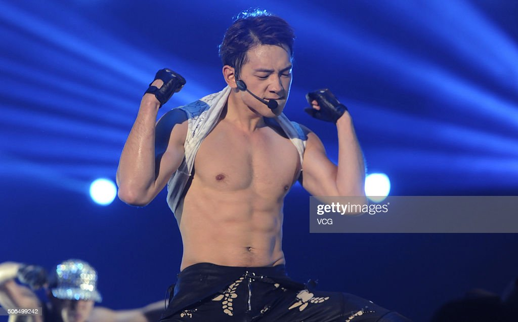 South Korean singer Rain performs onstage during his ...