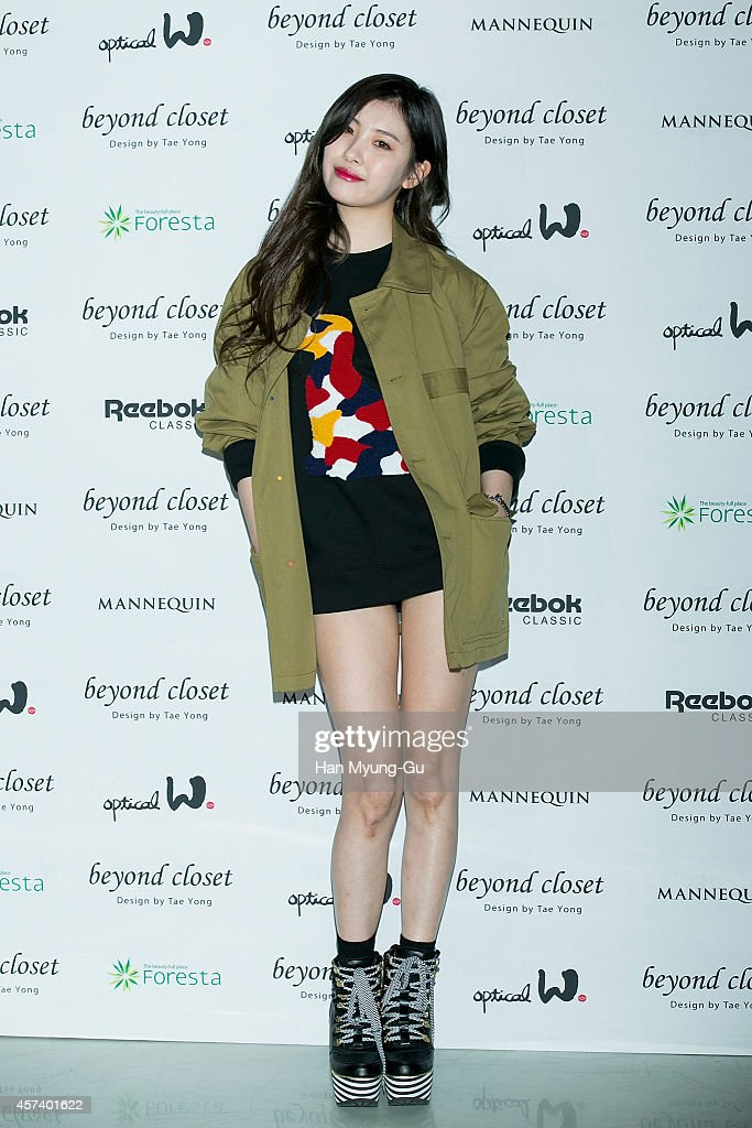 South Korean Singer Sunmi Poses For Photographs At The Beyond Closet Show  As Part Of Seoul