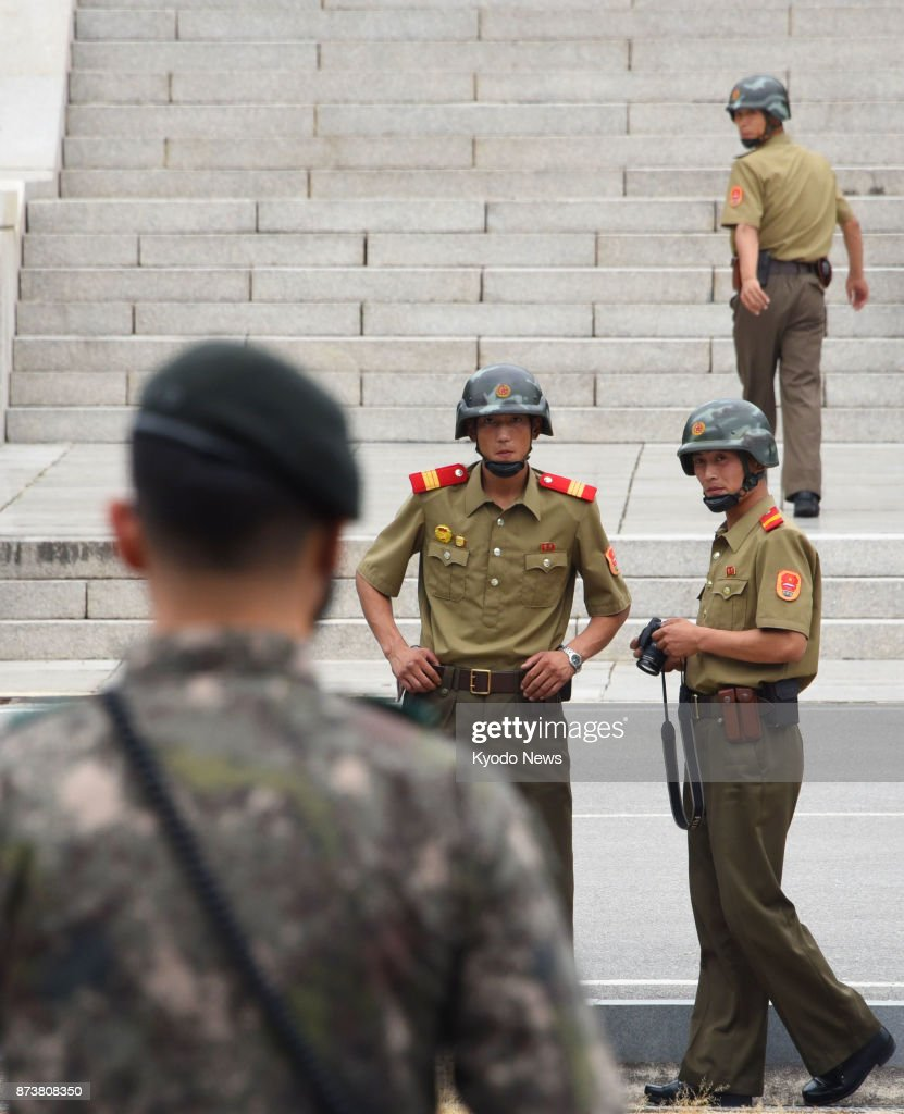 North Korea Latest News: A South Korean Soldier Stands Face-to-face With North
