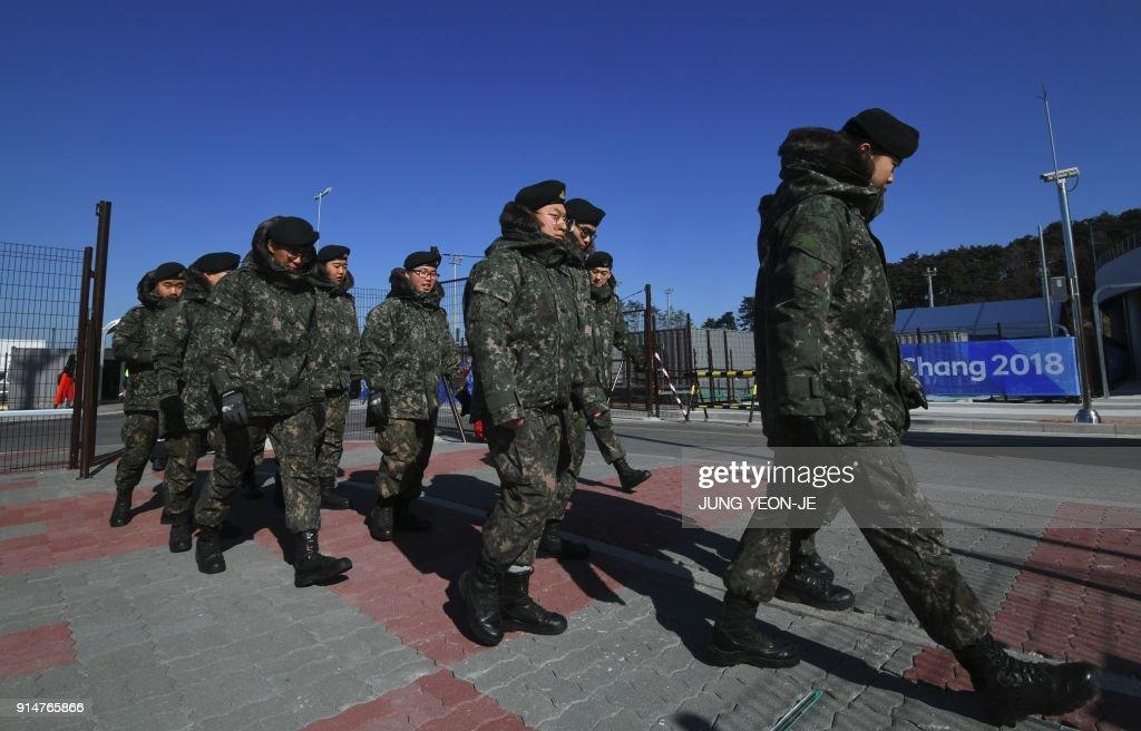 OLY-2018-PYEONGCHANG-SECURITY-FOOD : News Photo