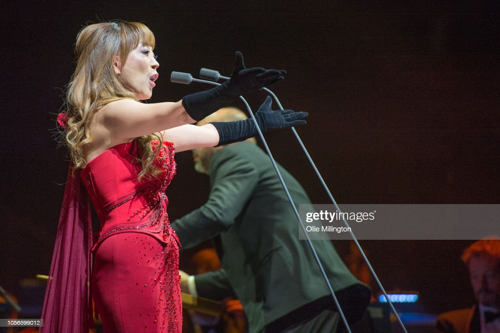 South Korean Soprano Sumi Jo Performs Onstage As A Guest Of Andrea