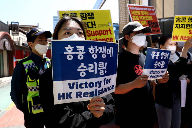 KOR: Students Rally In South Korea Against China's Proposed Security Law