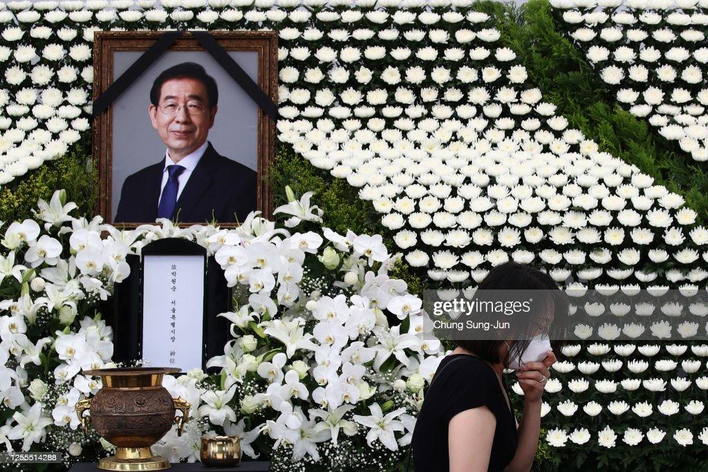 Seoul Mayor Park Won-soon Found Dead After Sexual Harassment Complaint : ニュース写真